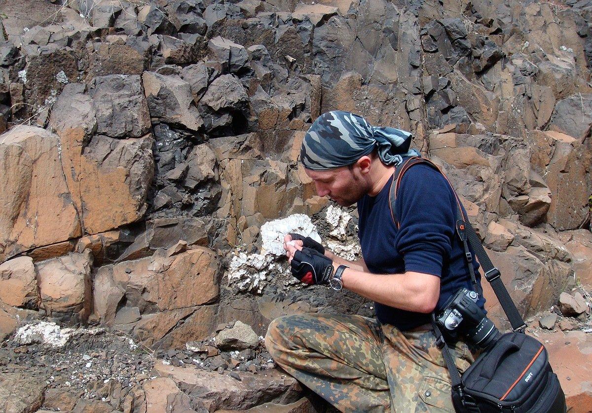 ... и геолога)