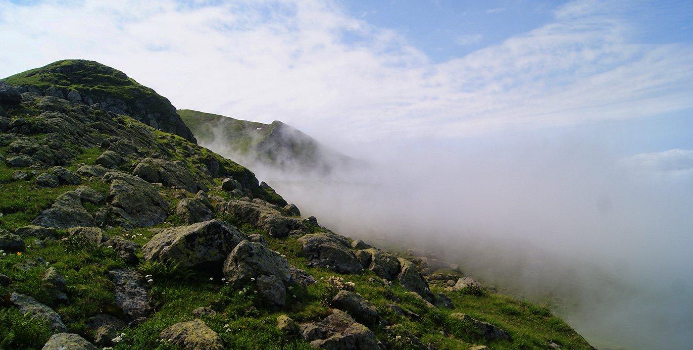 Туман не отступает ни на минуту