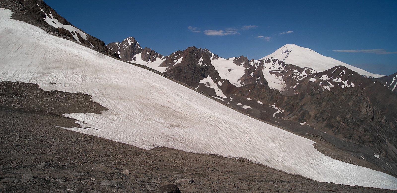 Эльбрус с перевала Сылтран