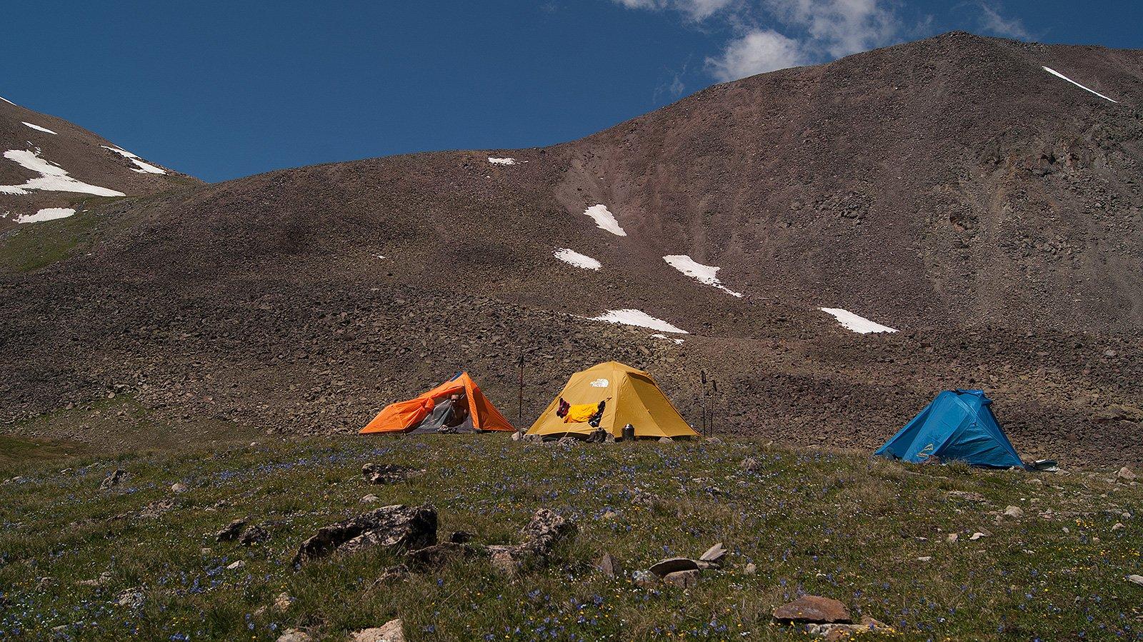 палатки на ночевках Сылтран