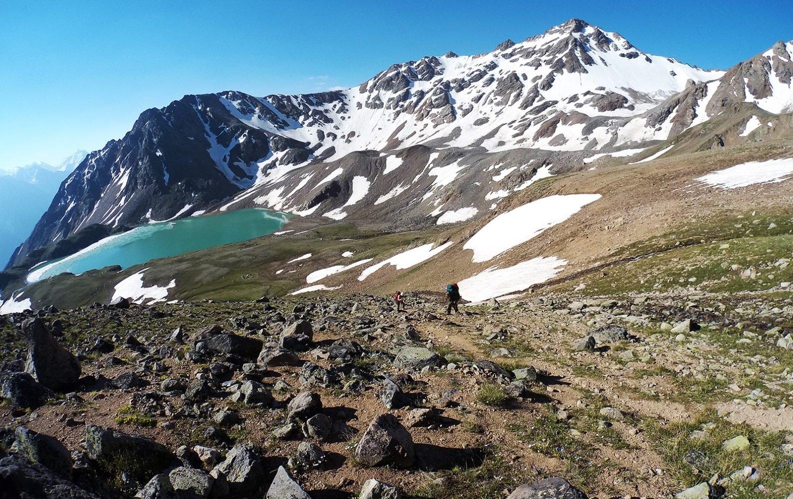 озеро Сылтранкёль с перевала