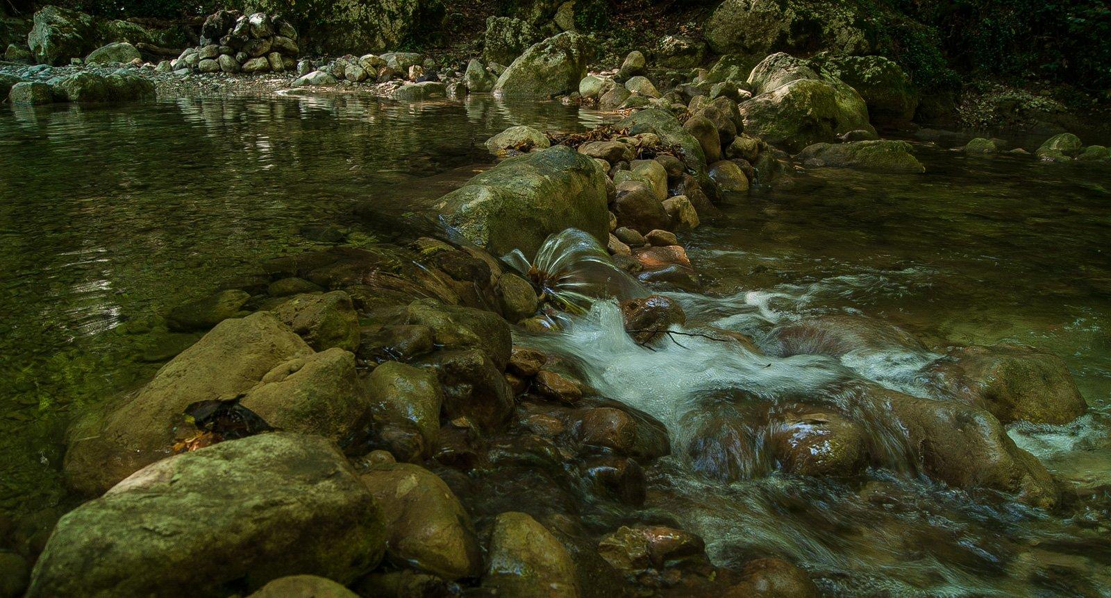 Водопадики на Коккозке