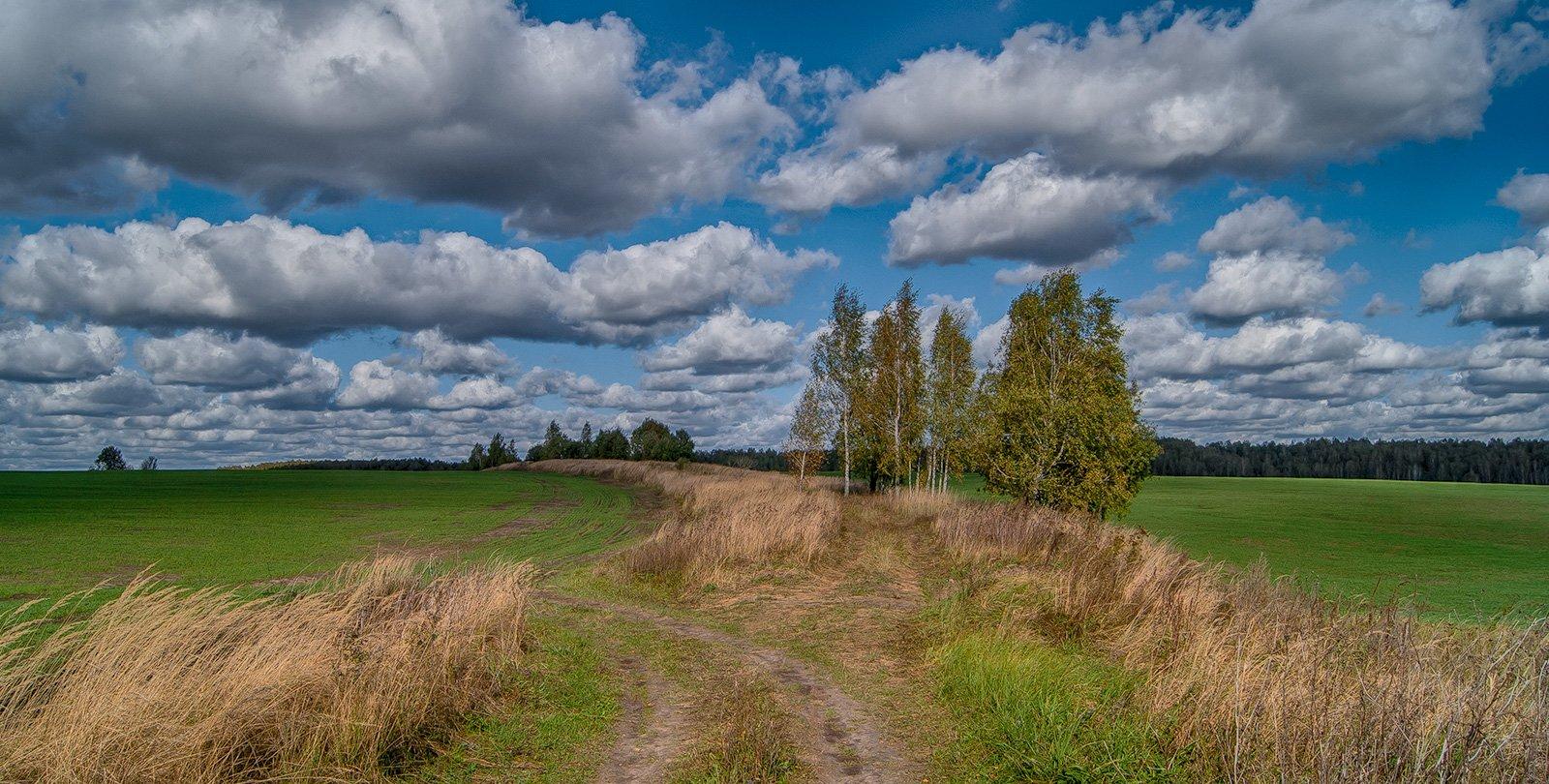 Старая дорога на Белоголовль