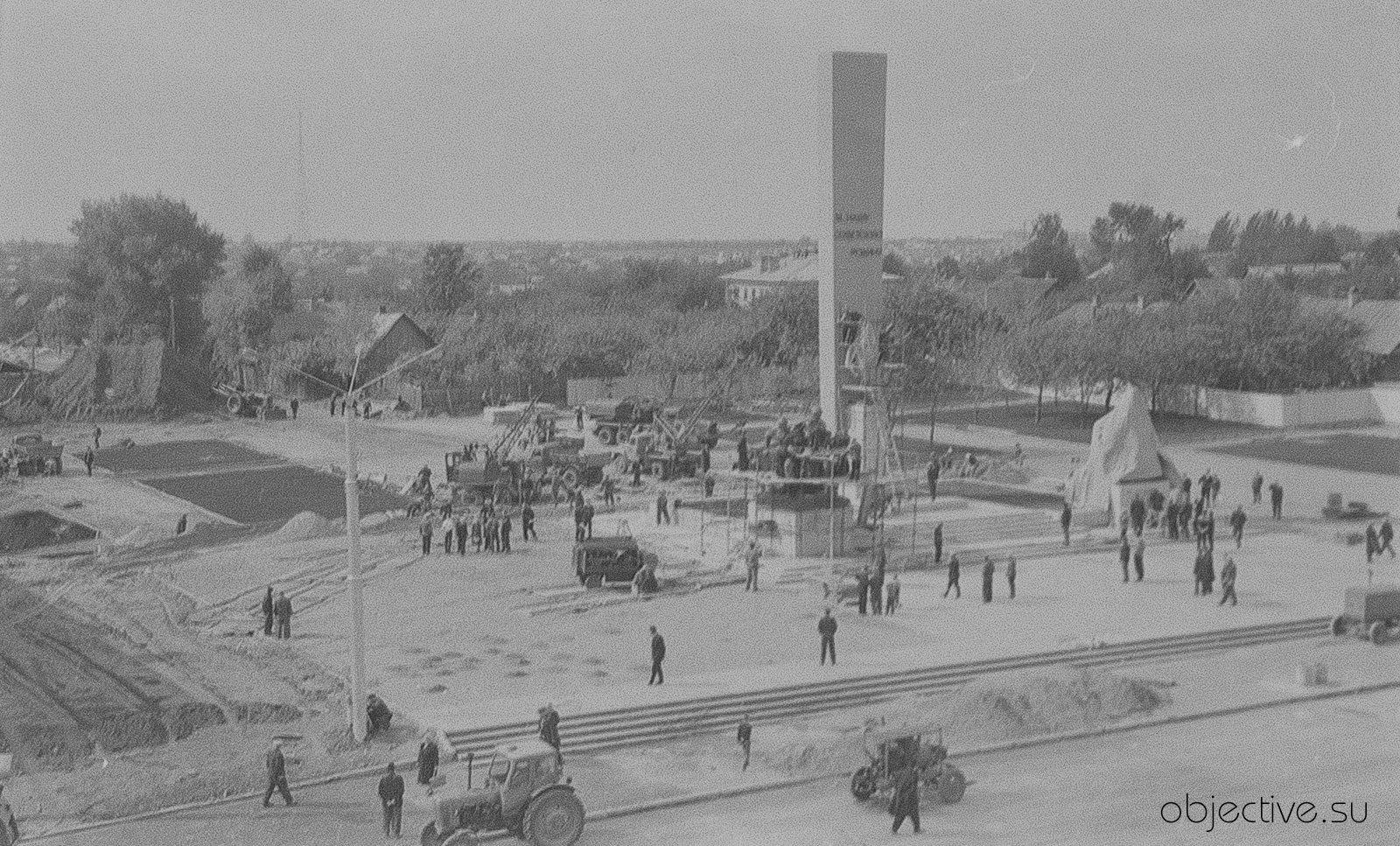 Площадь Партизан, 1966-ой