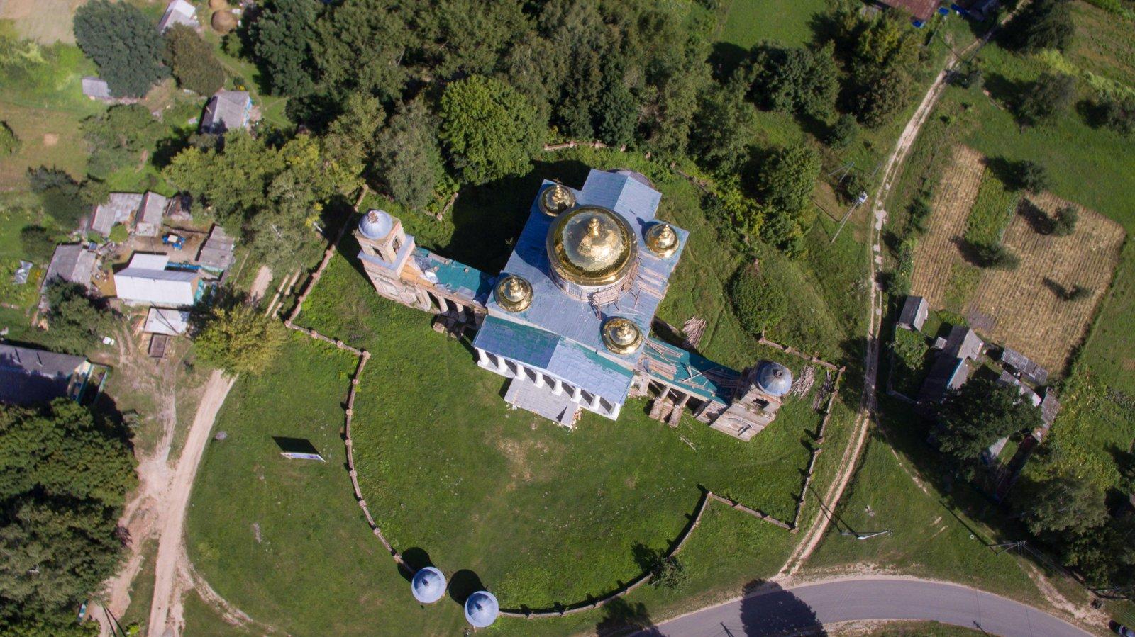 Усадьба Завадовского и Екатерининская церковь в Ляличах