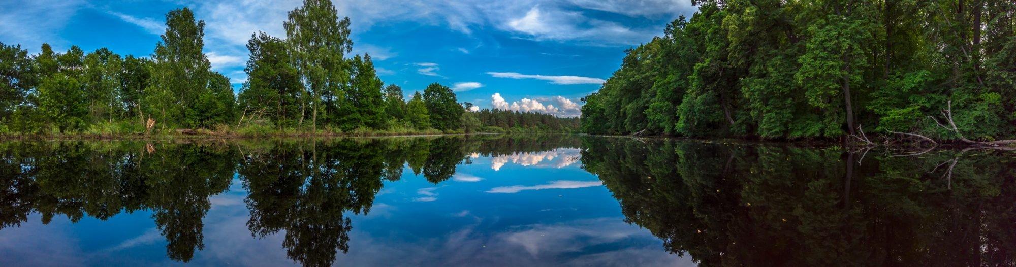 Озеро Боровень в июле