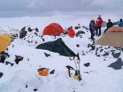 Эльбрус с востока — Ирик-чат