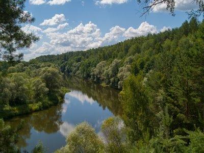 Саврасова Круча в жаркий июльский полдень